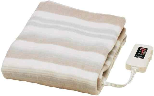 【水洗いOK】 敷き毛布 140×80cm NA-023S