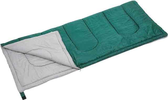 キャプテンスタッグ(CAPTAIN STAG) 寝袋 【最低使用温度15度】 封筒型シュラフ プレーリー 600